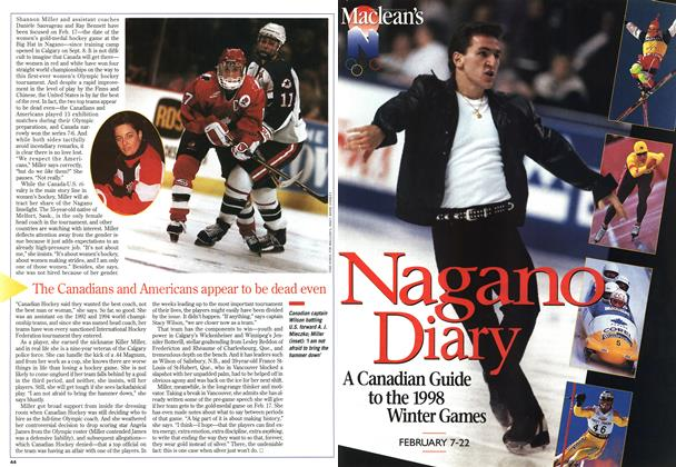 Article Preview: Nagano Diary, February 1998 | Maclean's