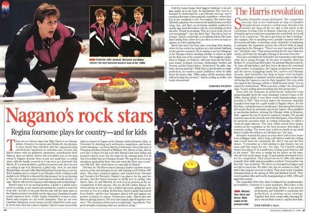 Article Preview: Nagano's rock stars, February 1998 | Maclean's