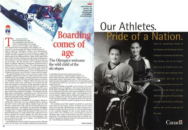 Article Preview: Boarding comes of age, February 1998 | Maclean's