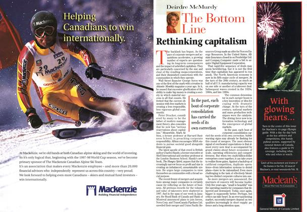 Article Preview: The Bottom Line, February 1998 | Maclean's