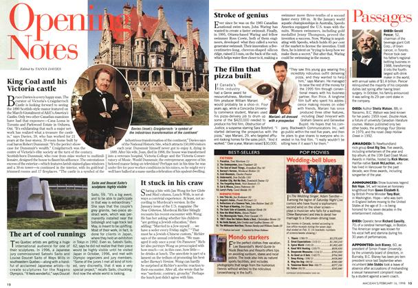Article Preview: POP MOVIES, February 1998 | Maclean's