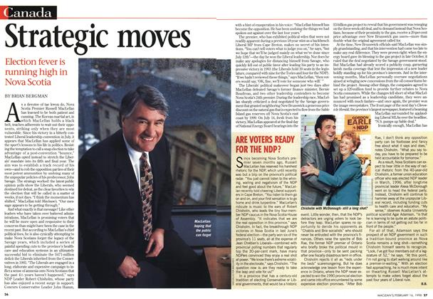 Article Preview: Strategic moves, February 1998 | Maclean's