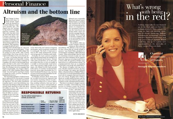 Article Preview: Altruism and the bottom line, February 1998 | Maclean's