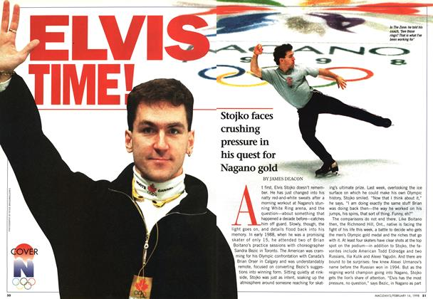 Article Preview: ELVIS TIME!, February 1998 | Maclean's