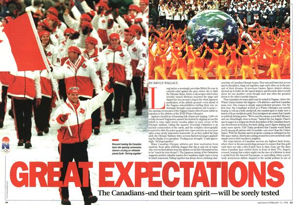 Article Preview: GREAT EXPECTATIONS, February 1998 | Maclean's