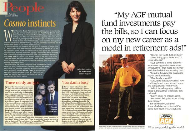Article Preview: People, February 1998 | Maclean's