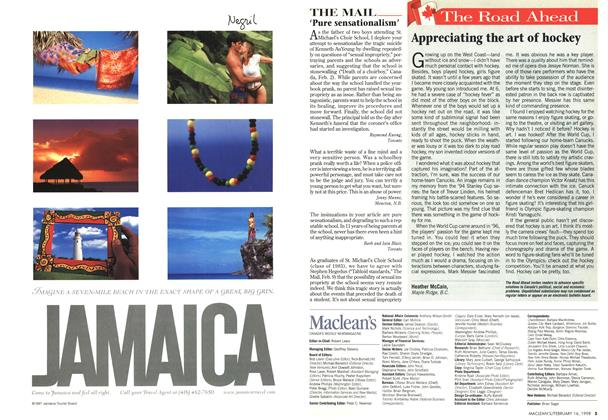 Article Preview: The Road Ahead, February 1998 | Maclean's
