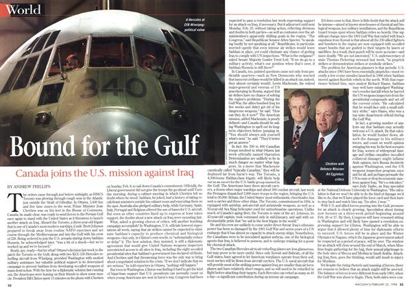 Article Preview: Bound for the Gulf, February 1998 | Maclean's