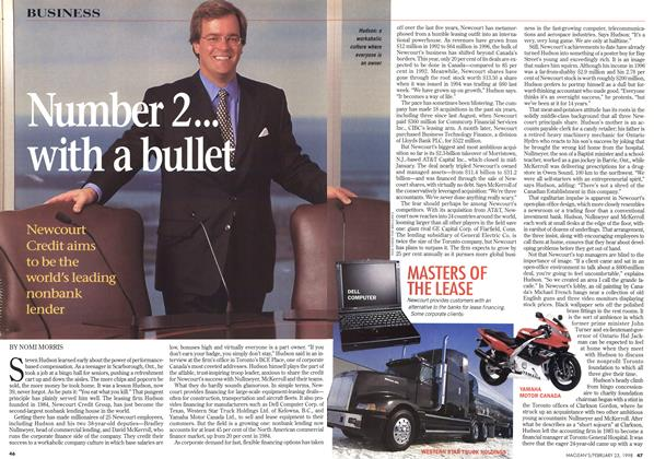 Article Preview: Number 2... with a bullet, February 1998 | Maclean's