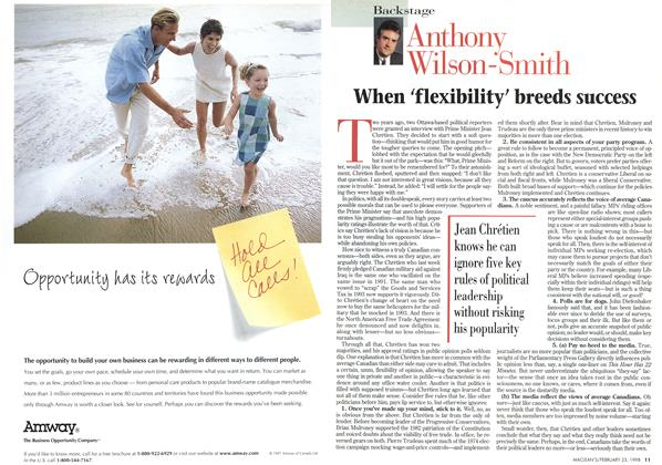 Article Preview: When 'flexibility' breeds success, February 1998 | Maclean's