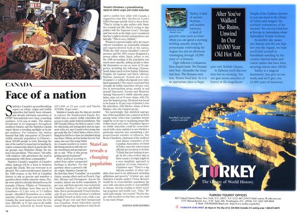 Article Preview: Face of a nation, March 1998 | Maclean's