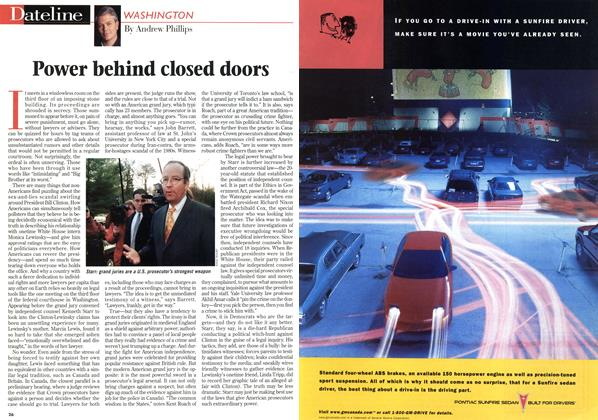 Article Preview: Power behind closed doors, March 1998 | Maclean's