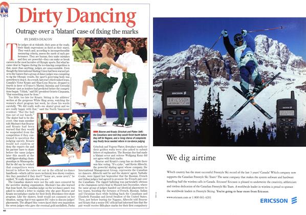 Article Preview: Dirty Dancing, March 1998 | Maclean's