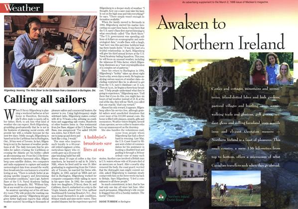 Article Preview: Calling all sailors, March 1998 | Maclean's