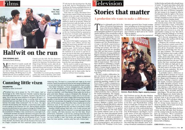 Article Preview: Halfwit on the run, March 1998 | Maclean's
