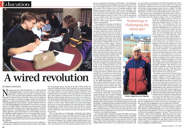Article Preview: A wired revolution, March 1998 | Maclean's