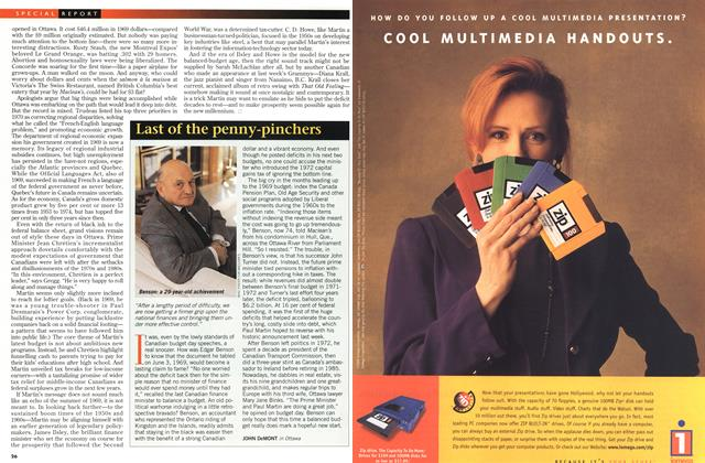 Article Preview: Last of the penny-pinchers, March 1998 | Maclean's