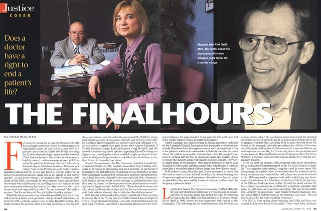 Article Preview: THE FINAL HOURS, March 1998 | Maclean's