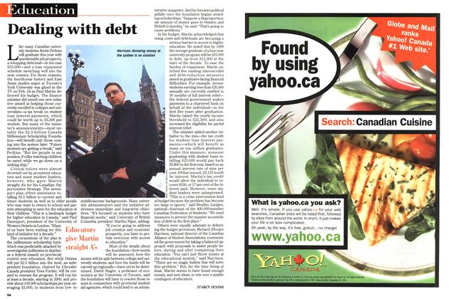 Article Preview: Dealing with debt, March 1998 | Maclean's