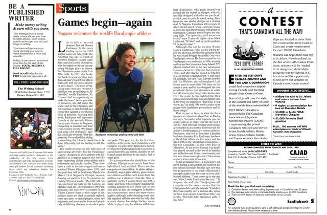 Article Preview: Games begin—again, March 1998 | Maclean's