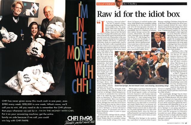 Article Preview: Raw id for the idiot box, March 1998 | Maclean's