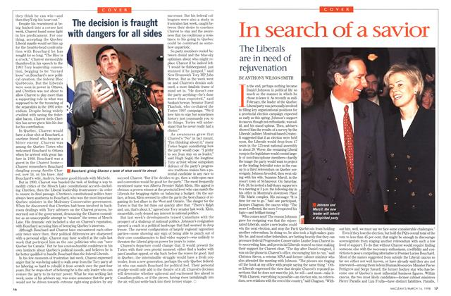 Article Preview: In search of a savior, March 1998 | Maclean's