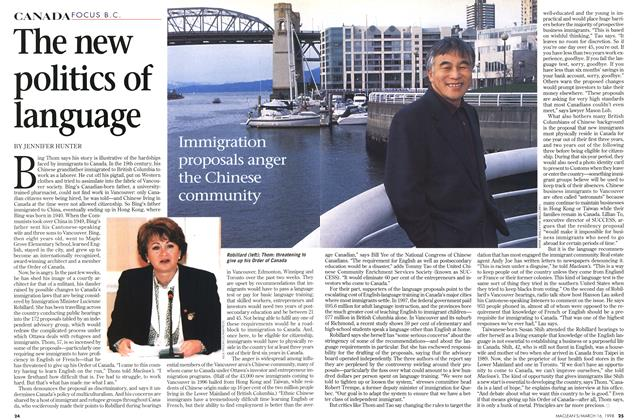Article Preview: The new politics of language, March 1998 | Maclean's