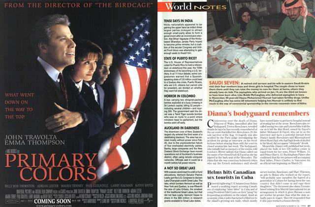Article Preview: Diana's bodyguard remembers, March 1998 | Maclean's