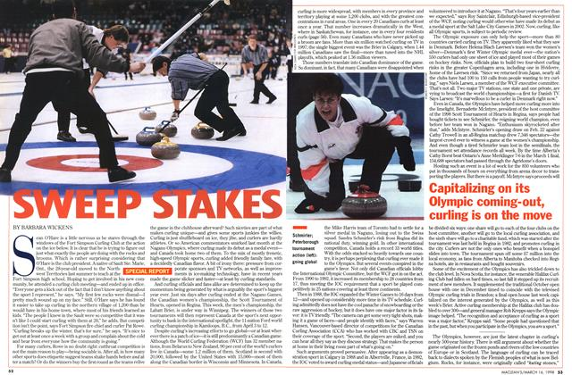 Article Preview: SWEEP STAKES, March 1998 | Maclean's