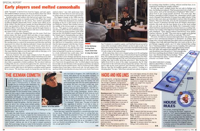 Article Preview: THE ICEMAN COMETH, March 1998   Maclean's