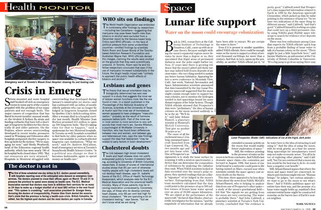 Article Preview: Lunar life support, March 1998 | Maclean's