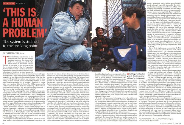 Article Preview: 'THIS IS A HUMAN PROBLEM', March 1998 | Maclean's