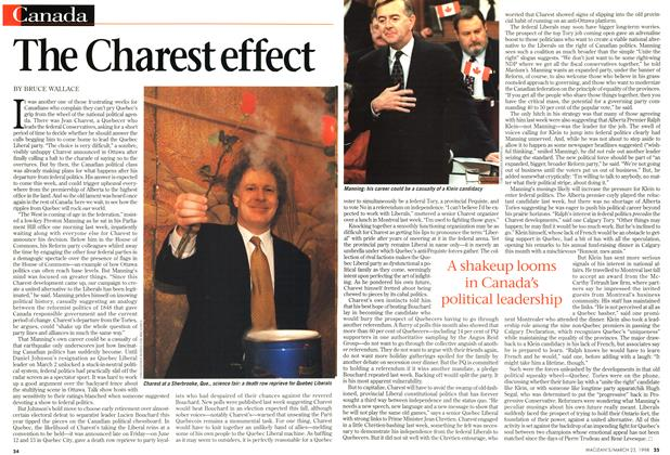 Article Preview: The Charest effect, March 1998 | Maclean's