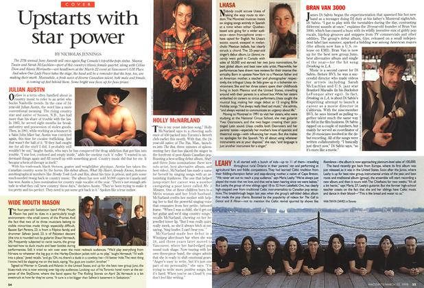Article Preview: Upstarts with star power, March 1998 | Maclean's