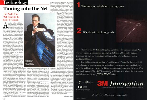 Article Preview: Tuning into the Net, March 1998 | Maclean's