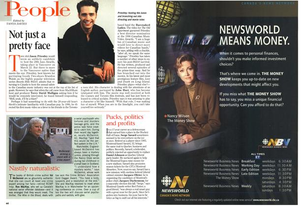 Article Preview: Not just a pretty face, March 1998 | Maclean's