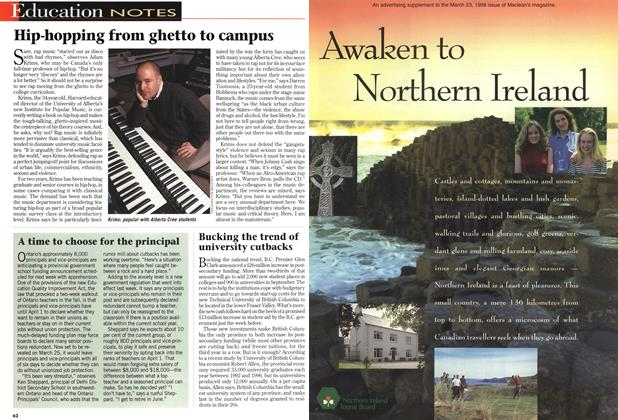 Article Preview: Awaken to Northern Ireland, March 1998 | Maclean's