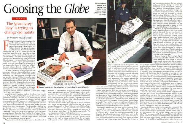 Article Preview: Goosing the Glebe, March 1998 | Maclean's