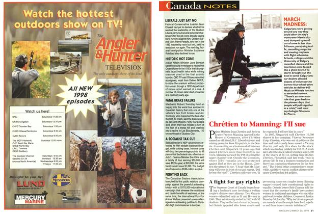 Article Preview: Canada NOTES, March 1998   Maclean's