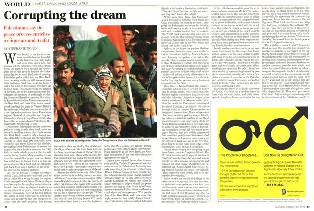 Article Preview: Corrupting the dream, March 1998 | Maclean's