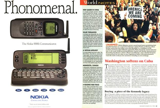 Article Preview: World NOTES, March 1998 | Maclean's