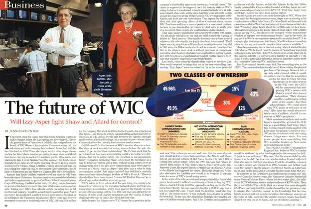 Article Preview: The future of WIC, March 1998 | Maclean's