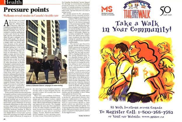 Article Preview: Pressure points, March 1998 | Maclean's