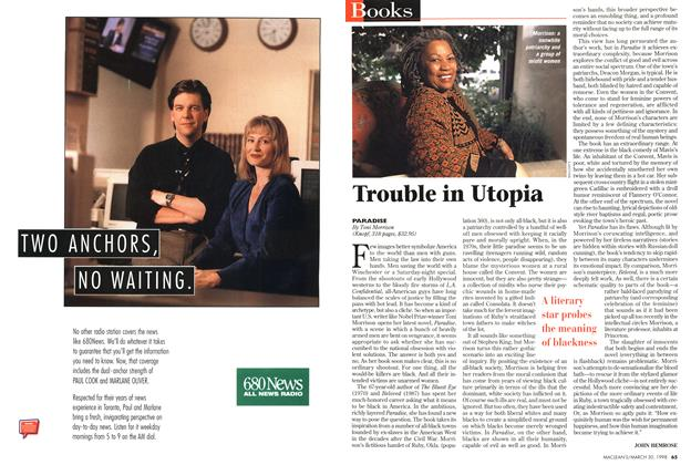Article Preview: Trouble in Utopia, March 1998 | Maclean's