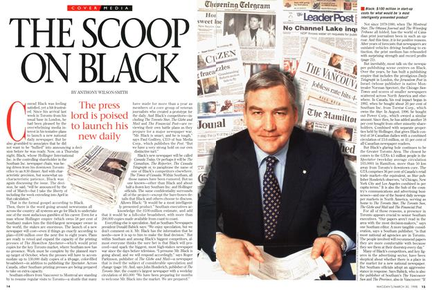 Article Preview: THE SCOOP ON BLACK, March 1998 | Maclean's