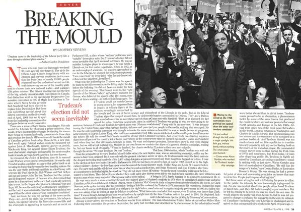 Article Preview: BREAKING THE MOULD, April 1998 | Maclean's