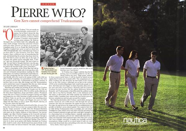 Article Preview: PIERRE WHO?, April 1998 | Maclean's