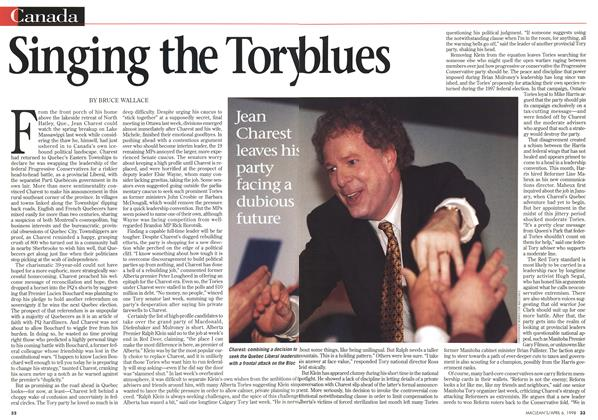 Article Preview: Singing the Tory blues, April 1998 | Maclean's