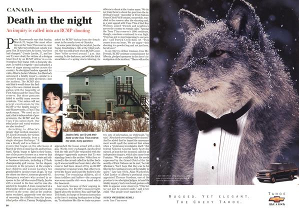 Article Preview: Death in the night, April 1998 | Maclean's