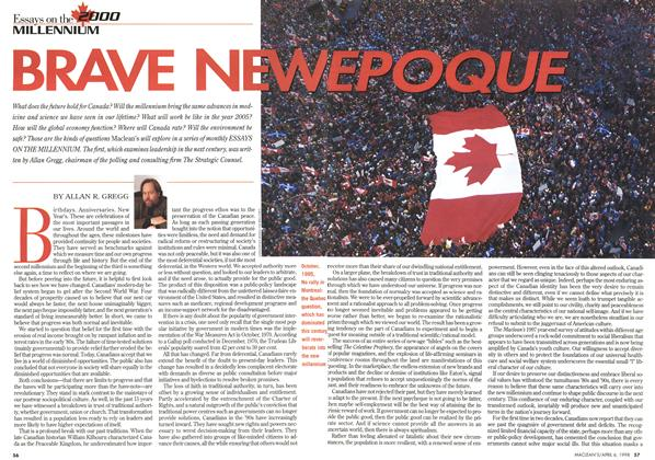 Article Preview: BRAVE NEW EPOQUE, April 1998 | Maclean's